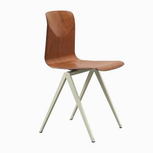 Vintage Model S19 Oak Chair from Galvanitas
