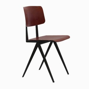 Vintage Modell S16 Stuhl aus Mahagoni von Galvanitas