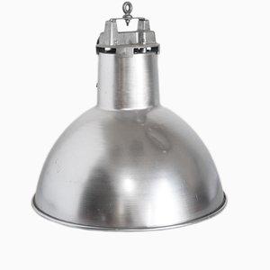 Industrial Dutch Aluminum Pendant Lamp from Mazda, 1970s