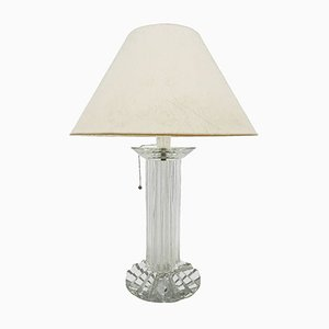 Lampe de Bureau en Cristal de Baccarat, 1970s