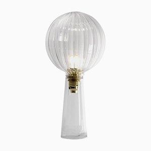 Lampe de Bureau Ping en Verre Soufflé par Andrea Barra pour [1+2=8], 2017