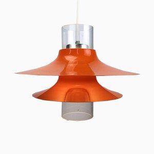 Lámpara de techo era espacial sueca, años 70