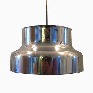 Lámpara colgante Bumling de cromo de Anders Pehrsson, años 70