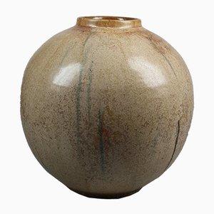 Art Deco Bouffioulx Vase von Roger Guerín, 1930er