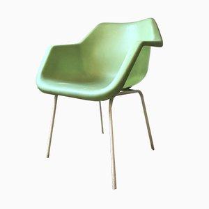 Grüner Vintage Armlehnstuhl von Robin Day für Hille, 1960er