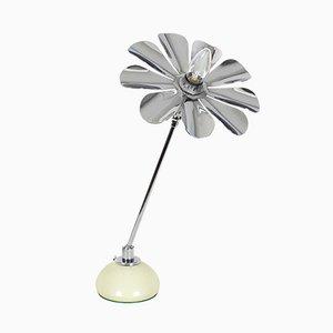 Lámpara de mesa Daisy italiana Mid-Century, años 60