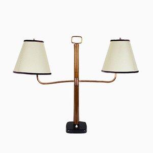Art Deco Italian Library Table Lamp, 1930s