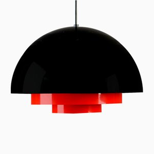 Lampe à Suspension Medio par Jo Hammerborg pour Fog & Mørup, 1970s