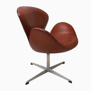 Modell 3320 Swan Stuhl in Schwanen-Optik von Arne Jacobsen für Fritz Hansen, 1964