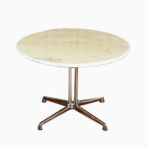 Table d'Appoint La Fonda en Marbre par Charles & Ray Eames pour Herman Miller, 1960s