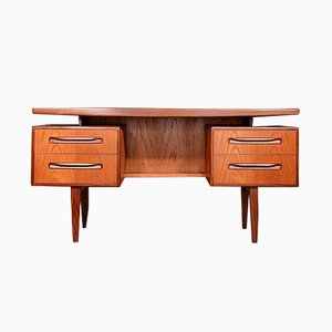 Mid-Century Danish Teak Desk by Kofod Larsen for G Plan, 1960s