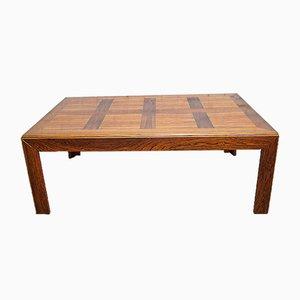 Large Brazilian Rosewood Coffee Table, 1960s