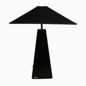 Lampada da tavolo vintage in marmo di Camille Breesch, anni '70