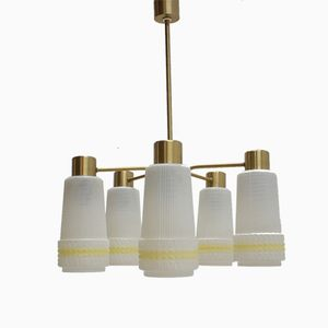Vintage Deckenlampe, 1970er.