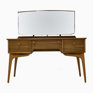 Mid-Century Walnut Dressing Table by Alfred Cox, 1950s
