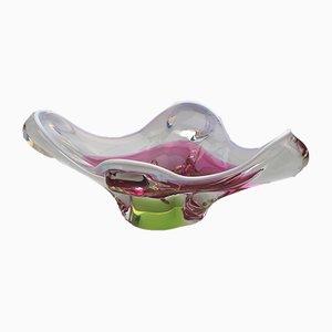 Mid-Century Italian Murano Glass Bowl