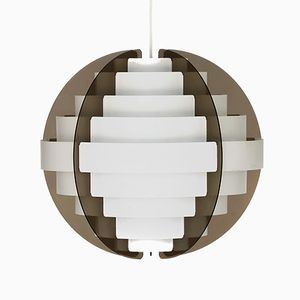 Danish Strips Pendant by Brylle & Jacobsen for Quality System, 1970s