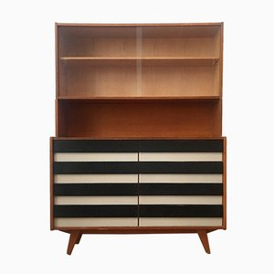 U-458 Dresser with Bookcase by Jiri Jiroutek for Interier Praha, 1960s