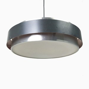 Dano Circular Ceiling Lamp by Jo Hammerborg for Fog & Mørup, 1963