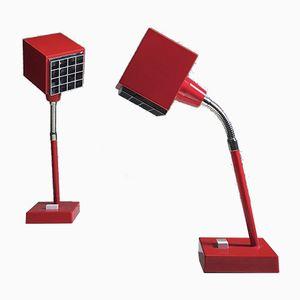 Lampes de Bureau Elidus par Hans Agne Jakobsson, Suède, 1970s, Set de 2
