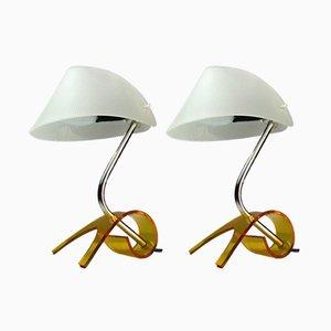 Lámparas de mesa vintage, años 60. Juego de 2