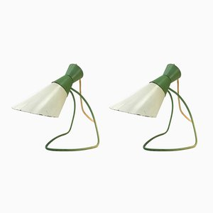Lámparas de mesa Mid-Century de Josef Hurka para Napako. Juego de 2