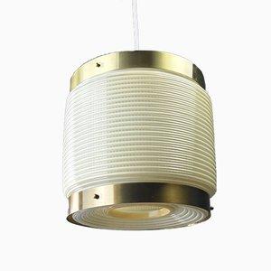 Lámpara colgante Mid-Century de Rotaflex Heifetz, años 50