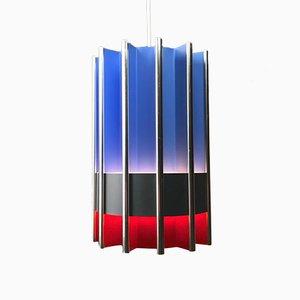 Lampada Pantre geometrica di Bent Karlby per Lyfa, anni '70