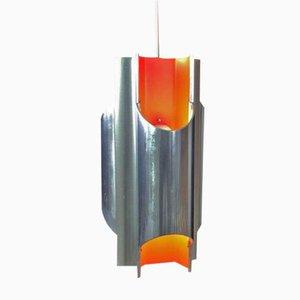 Mid-Century Pantre Deckenlampe von Bent Karlby für Lyfa