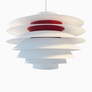 Danish Mid-Century Verona Ceiling Light by Svend Middelboe