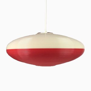 Lámpara de techo UFO de Yasha Heifetz para Rotaflex, años 50