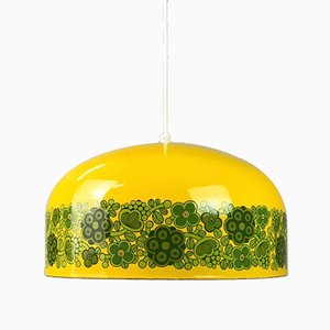Lámpara de techo danesa vintage de Kaj Franck para Fog & Mørup