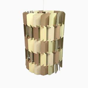 Facet-Pop Deckenlampe von Louis Weisdorf für LYFA, 1970er