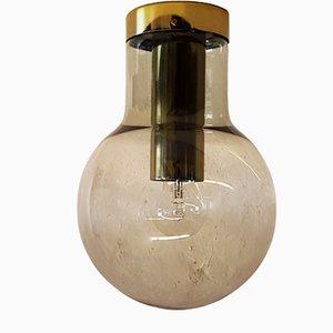 Lámpara de techo esférica grande de Raak, años 60