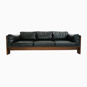 Mid-Century Bastiano Leather Sofa by Afra & Tobia Scarpa for Gavina