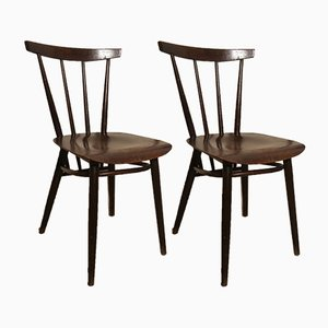 Antique Side Chairs, 1900s, Set of 2