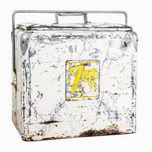 Caja para el hielo de Progress Refrigerator Co. Louisville, años 50