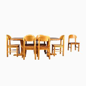 Set da pranzo di Rainer Daumiller per Hirtshals Sawmill, Danimarca, anni '60