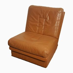 Leather Lounge Chair from Steiner, 1980s