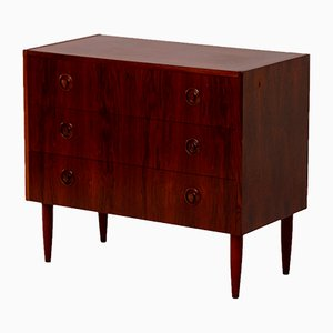 Vintage Rosewood Chest of Drawers from SMI Sweden, 1960s