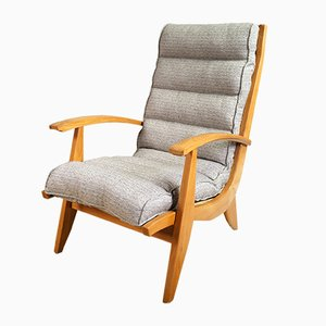 French FS 123 Armchairs from Free Span, 1954, Set of 2