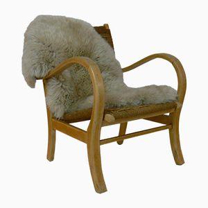 Bauhaus Lounge Chair by Erich Dieckmann, 1920s