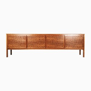 Long Danish Rosewood Sideboard by Poul Cadovius for Cado, 1960s