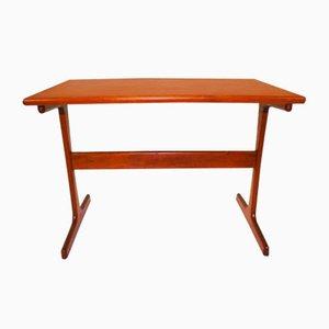 Petite Table d'Appoint en Teck par Hansen Severin, 1960s