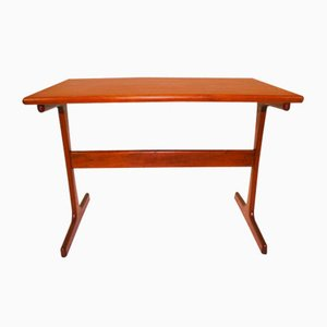 Small Teak Side Table by Hansen Severin, 1960s