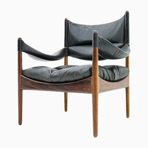 High-Back Lounge Chair by Kristian Solmer Vedel for Søren Willadsen, 1963