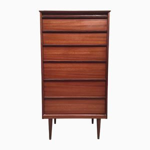 Vintage Teak & Rosewood Chest of Drawers by Frank Guille for Austinsuite