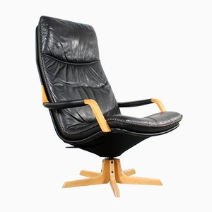 Vintage Danish C90 Lounge Chair, 1960s