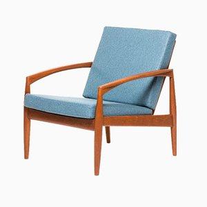 Vintage Model 121 Paper Knife Chair by Kai Kristiansen for Magnus Olesen
