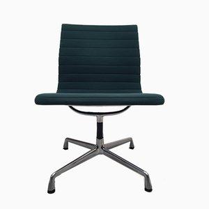 Chaise de Bureau Modèle EA 105 / EA 107 en Aluminium par Charles & Ray Eames pour Vitra, 1960s